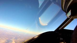 VFR Flight Teterboro, NJ to Barre/Montpelier, VT Learjet 35A