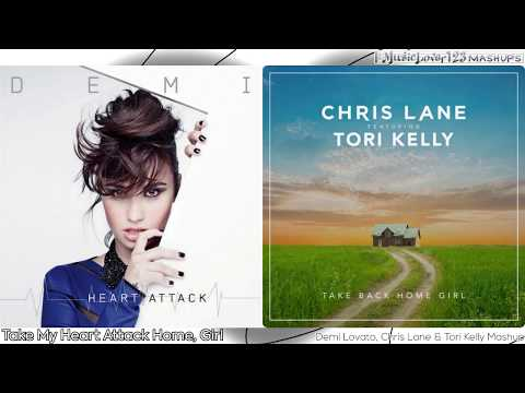 [Speed-UpPitched] TAKE BACK MY HEART ATTACK HOME, GIRL - Demi Lovato, Chris Lane & Tori Kelly Mashup