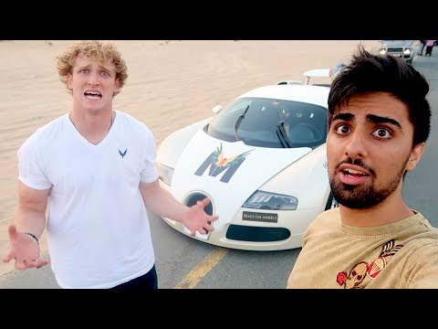 HE DESTROYED THE BUGATTI !!!
