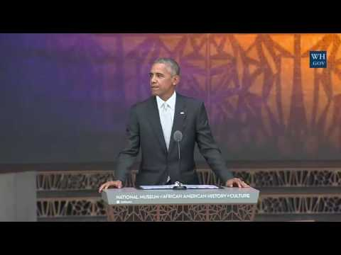President Obama Speaks at the Opening for the Museum of African American History