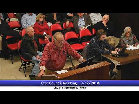 March 12, 2018 - City Council Meeting