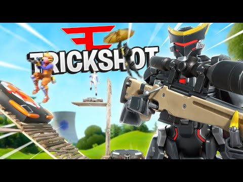 WE HIT THE CRAZIEST TRICKSHOTS!! | Faze H1ghSky1 Playing With THE BEST Fortnite TRICKSHOTTERS.