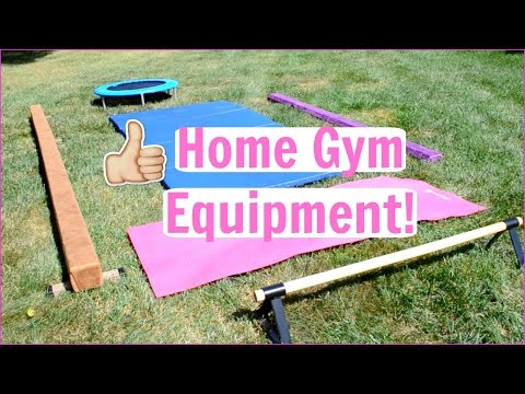 Home Gymnastics Equipment! Everyday Gymnastics