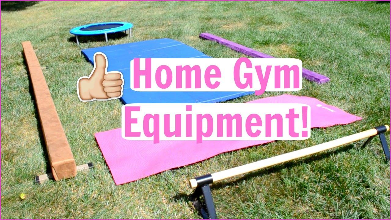 8347753eac2c Home Gymnastics Equipment! Everyday Gymnastics - YouTube