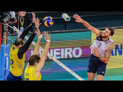 FIVB World League 2016 ALL ACTION - Brazil v United States  (Group 1 Matchday 3) Men's Volleyball