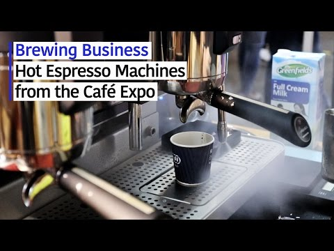 Brewing Business: Hot Espresso Machines from the Café Expo