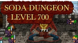 Soda Dungeon - beating Level 700