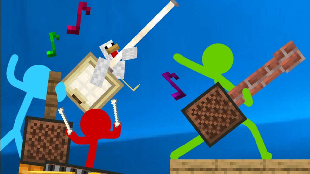 Note Block Battle - Animation vs. Minecraft Shorts Ep 16 (by @Alan Becker ) reverse, AVM Shorts