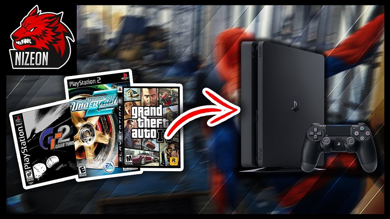 How To Play Ps3 Ps2 Ps1 Games On Ps4 Backwards