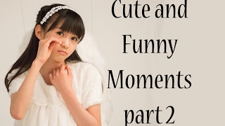 Cute and funny compilation of Moa Kikuchi (Moametal) part 2. If any...
