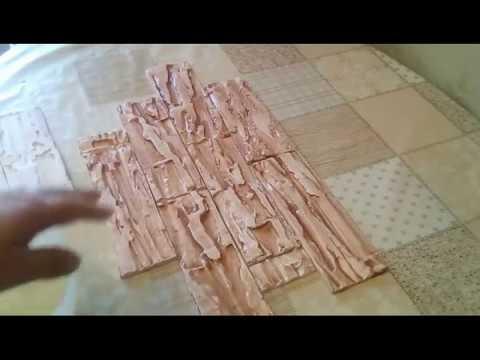 видео: Дешевый  Гипсовый камень своими руками БЕЗ ФОРМ