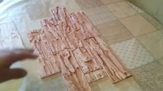 видео Изготовление декоративной плитки и ее производство в домашних условиях