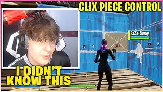 CLIX FINALLY SHOWS OFF His PIECE CONTROL While EDIT COURSING Everyone In New Solo Cash Cup(Fortnite)