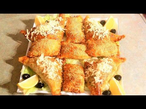 chausson-aux-Épinards-et-viande-hachée-شوصون-بالكفتة-والسبانخ-لذيذة-جدا