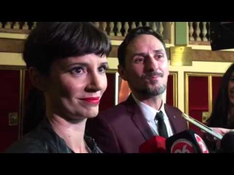"""Griselda Siciliani en la entrega de los Premios ACE: """"Si ganamos sería como un broche de oro"""""""