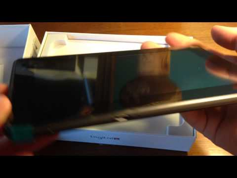 """Digital2 Pad Deluxe 7"""" 4GB Android 4.1 Tablet Unboxing"""