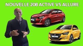 Nouvelle 208 : comparatif de gamme Active & Allure : Les Tutos de Berbiguier