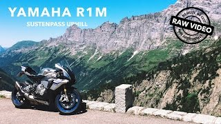 Yamaha R1M on the Sustenpass (4K RAW Onboard)