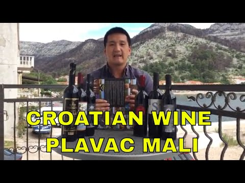 Plavac Mali Croatian Wine from the Pelješac Peninsula