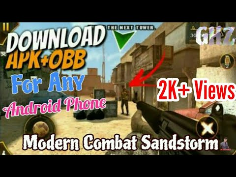 150mb] download modern combat 1 sandstorm for android free latest.