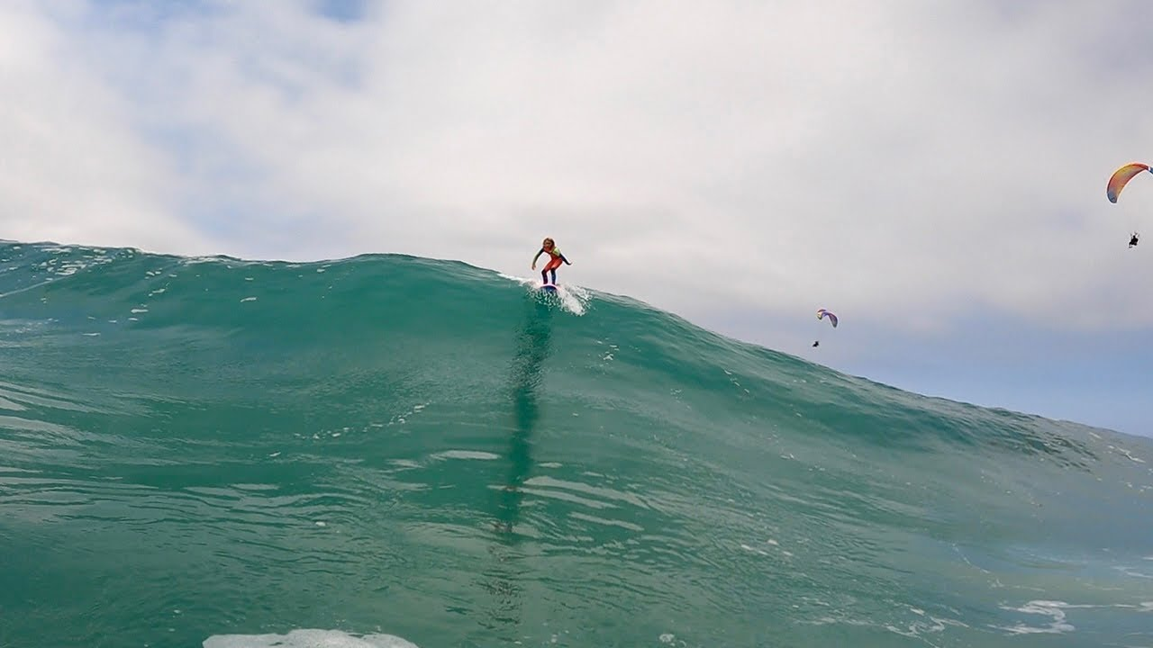 Charging the Wedge and Weird waves - RAW Footage (June 2021)