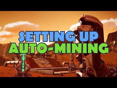 How To Setup Auto-Mining No Man's Sky Beyond Guide