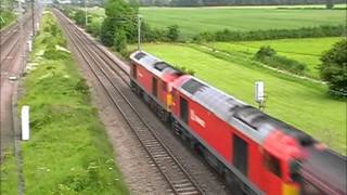 ECML Steam triple header take 2 plus class 60's on engineers