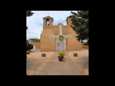 a Walk Around the mission church of San Francisco de Asis in Ranchos de Taos, NM