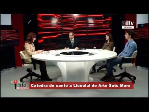 Info magazin - Catedra de Canto a Liceului de Arte Satu Mare 20.02.2015