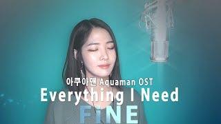 Gambar cover Aquaman Soundtrack (아쿠아맨OST) Skylar Grey - Everything I Need _Cover By 파인(FiNE) (가사/해석)