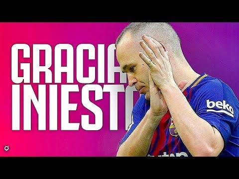 Andrés Iniesta - Goodbye Barcelona • 1996-2018