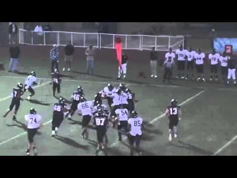 Dylan Walsh Highlight Video Class of 2013 football