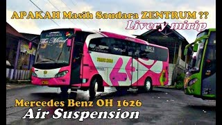 Video Bus Pariwisata Asal Mana Ini? kok Mirip ZENTRUM   MB oh1626 Air Suspension..TRANS SABA download MP3, 3GP, MP4, WEBM, AVI, FLV Agustus 2018