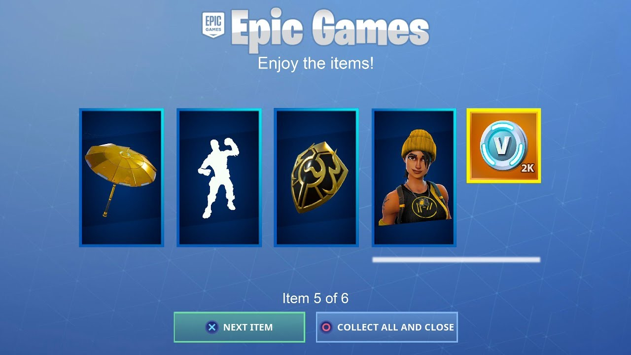 ALL PLAYERS CAN GET FREE ITEMS IN FORTNITE!