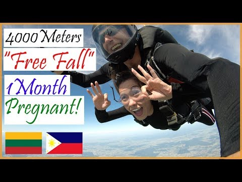 """Pregnant at One month Jumped off the Plane """"Life in Lithuania"""" (PinayVlog) It'srofa"""