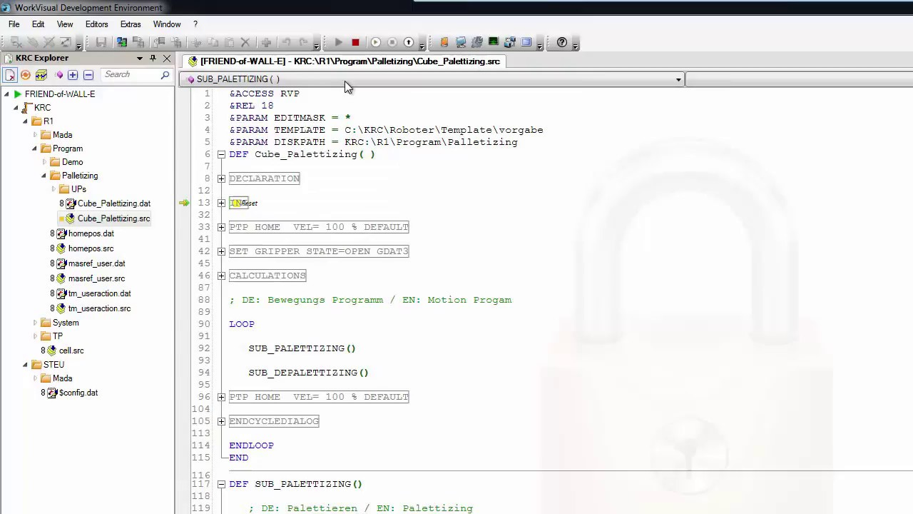 kuka workvisual 4 0 debugging program start by workvisual youtube rh youtube com