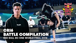 Cri6 Battle Compilation | Red Bull BC One World Final 2018