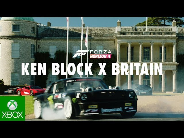 Forza Horizon 4 Presents: Ken Block VS Britain