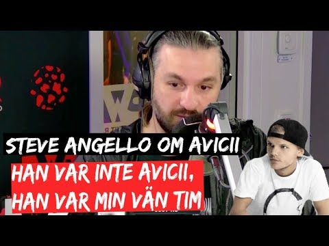 STEVE ANGELLO OM AVICII