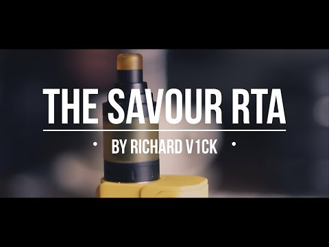 SAVOUR RTA REVIEW - A GREAT flavour chaser that's cheap!