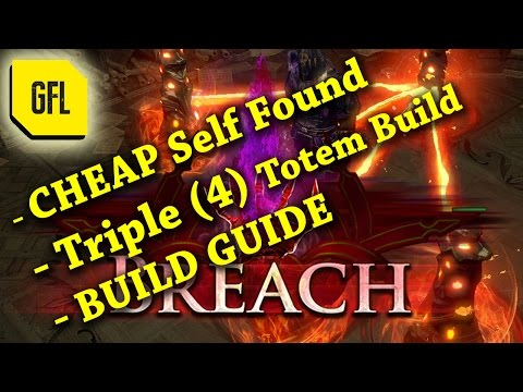 Path of Exile 2.5 Breach: Cheap Fire Triple Totem Build Guide