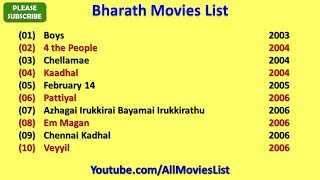 Bharath Movies List