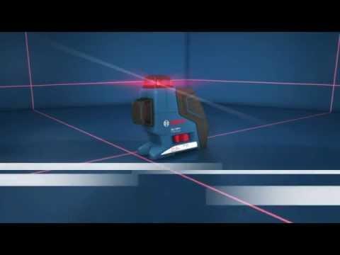 niveau laser bosch 3 lignes 360 gll 3 80 p youtube