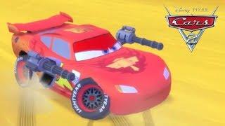 Jogo Carros 2 Relâmpago Mcqueen Corrida em Plena Vista - Gameplay
