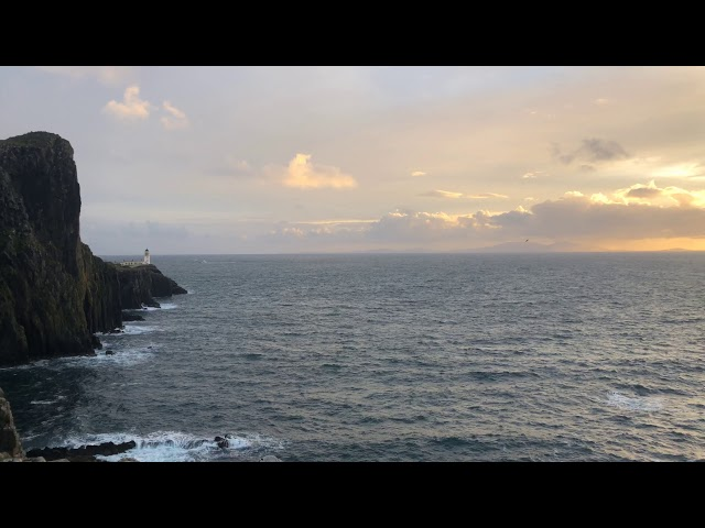 Neist Point Lighthouse - Isle of Skye Timelapse