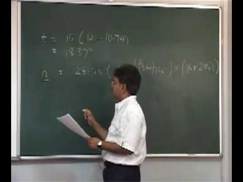 Lecture 28 Air Quality Modeling I