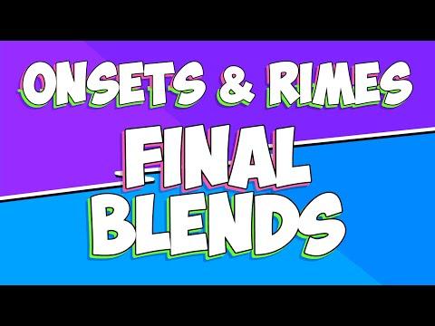 Onsets And Rimes | Set 3 | Final Blends | Jack Hartmann