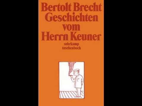 Bertolt Brecht - Geschichten vom Herrn Keuner (ausgewählte Texte)