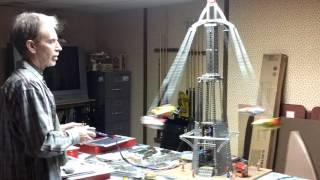 Gilbert Erector Set Rocket Ship Ride