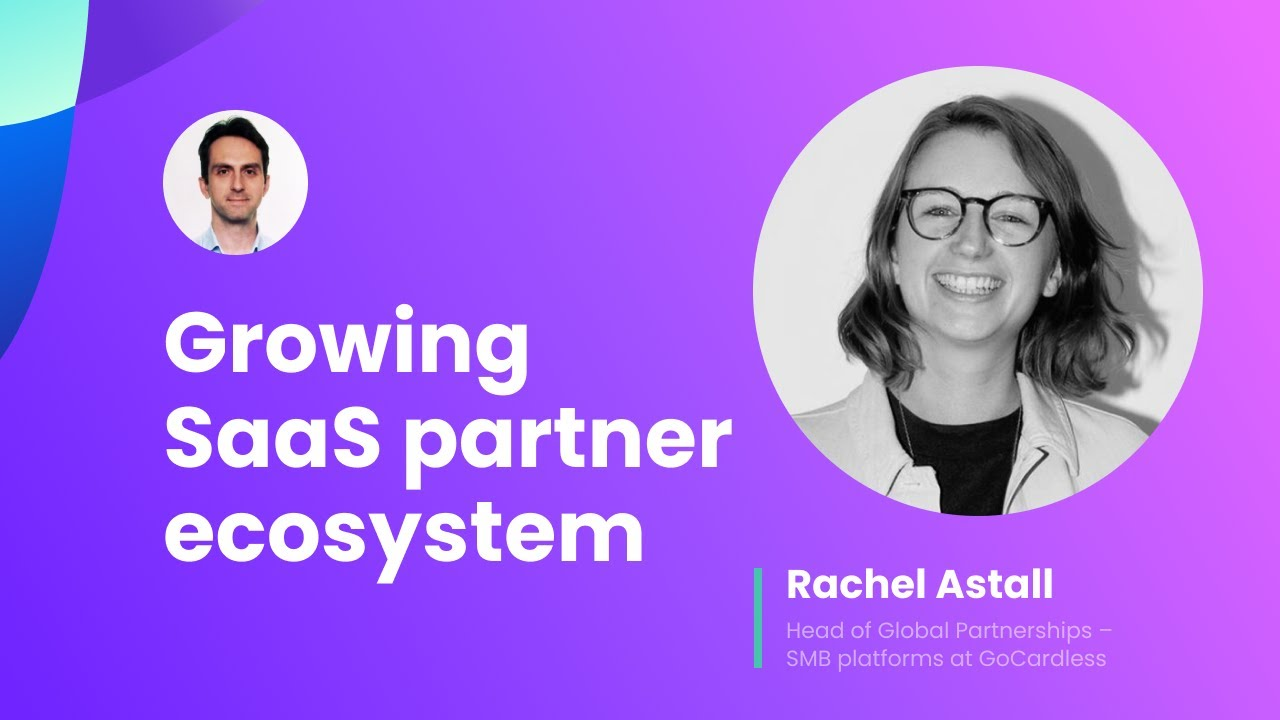 Growing SaaS partner ecosystem